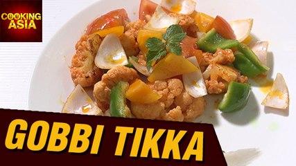 How To Make Gobi Tikka (Cauliflower Tikka) | Malladis Hydrabadi Foods | Cooking Asia