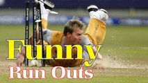 The Best Funny Run Outs In Cricket History Presents Cricket World