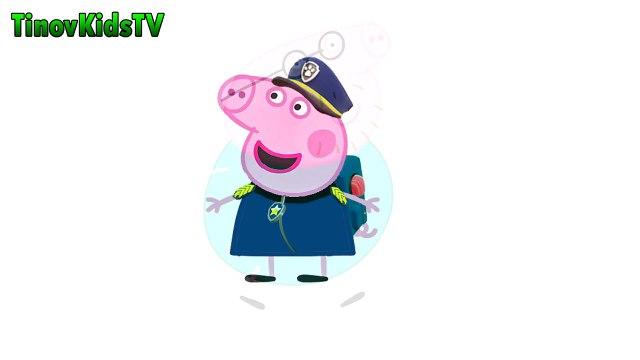 Peppa Pig Deutsch - Transformada um Paw Patrol