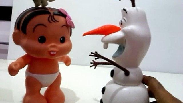 Olaf e Turma da Mônica  - George da Peppa Pig e Paulinho Abrem Surpresas Frozen Sonic Star Wars