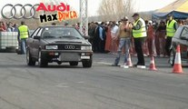 Audi 80 Coupe Quattro Turbo Vs. Fiat Punto GT Turbo