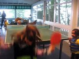 Kids Playing PingPong #2