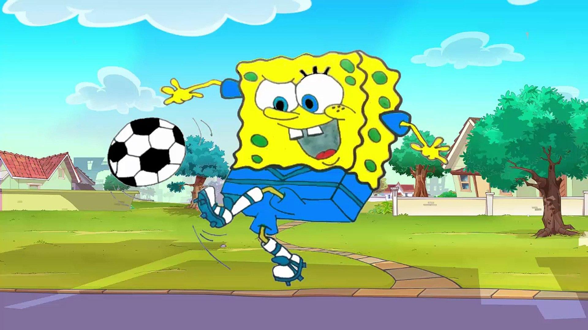 Desenho Bob Esponja Jogador De Futebol 2016 Bob Esponja Portugues