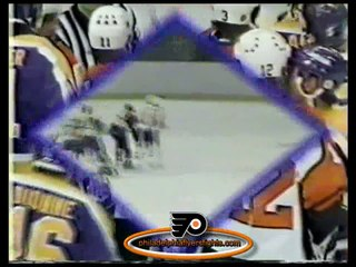 Mar 8, 1984 Russ Anderson vs Brian Propp Los Angeles Kings vs Philadelphia Flyers