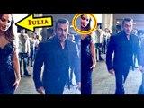 Salman Khan Is With Girlfrind Lulia(iulia) Vantur 2016