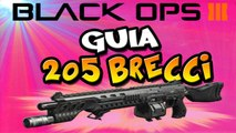 GUIA DE ARMAS 205 BRECCI - COD BLACK OPS III