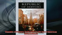 READ book  Republic of Debtors Bankruptcy in the Age of American Independence Online Free