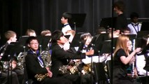 2010 Texas Region 24 All Region Middle School Honor Band Performance - Part 1 of 3