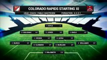 HIGHLIGHTS - Colorado Rapids vs. Sporting Kansas City May 11, 2016.