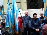 Székely himnusz  a Székely Mikó Kollégium előtt  - Bagoly György felvétele, 2012.08.27.