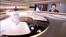 Amir en direct dans le JT de 20h de France 2 - Eurovision 2016
