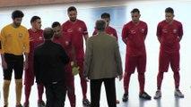 Finale de la coupe Rhône-Alpes de futsal : FC Chavanoz - Futsal Saône Mont d'Or (3-0)