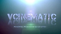 VCINEMATIC PRo 1 23 Preset For After Effects CS6, CC, CC 2014.1