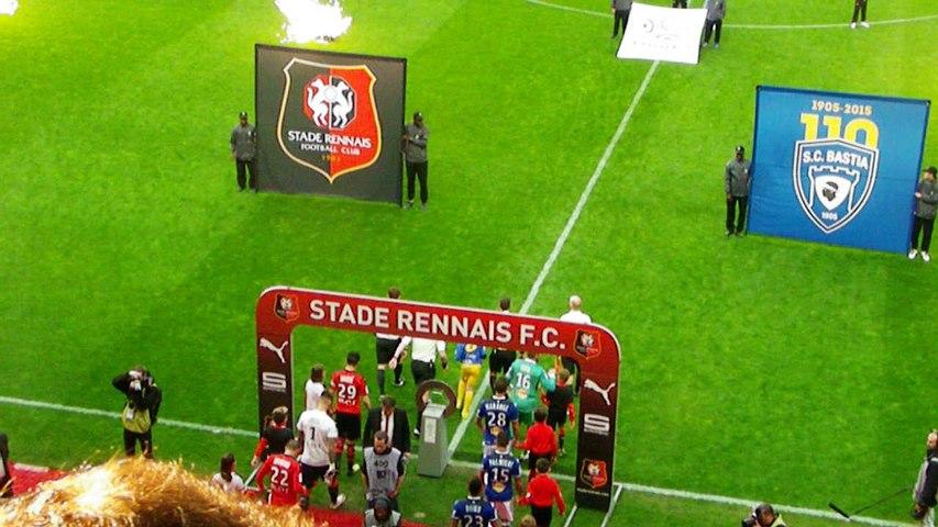 14/05/16 : SRFC-SCB : entrée des équipes