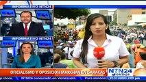 Oposición venezolana se concentró este sábado para exigir cumplimiento de lapsos del revocatorio