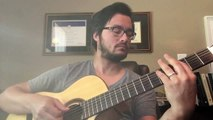 Monsters inc theme acoustic guitar