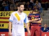 [HIGHLIGHTS] FUTSAL (LNFS): Santa Coloma-FC Barcelona Lassa (1-2)