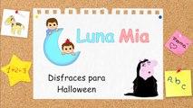 PEPPA PIG SE DISFRAZA DE LOS LOCOS ADDAMS   Los Addams Pig ◄ Peppa Video ►