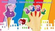 Peppa Pig Iron Man Finger Family \ Nursery Rhymes Lyrics 3