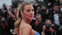 Blake Lively Finally Shows Off Her Baby Bump at Cannes -- See Her Gorgeous Blue Gown!