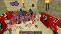PopularMMOs Minecraft  RED LUCKY BLOCK MOD MORE LUCKY VILLAGERS, LUCKY WELLS, & BLOCK TOWERS! Mod