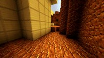 Quake 2 Level 1 (Outer Base) Recreated in Minecraft