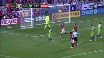Mauro Diaz Goal - FC Dallas 1-0 Seattle Sounders FC - 14-05-2016 MLS