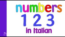 Italian Numbers 1 - 10 for kidsNumbers Song in Italian. Canzone dei Numeri.Learn Italian - Italian N