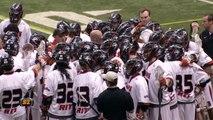 RIT SportsZone Men's Lacrosse: #2 RIT vs #1 Stevenson 2-22-14