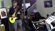 Evergreen by Echo and the Bunnymen with Jeff playing a Parker PDF60 guitar