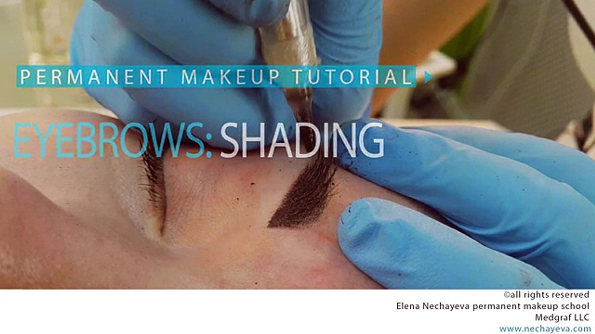 Permanent Makeup Tutorial Eyebrows