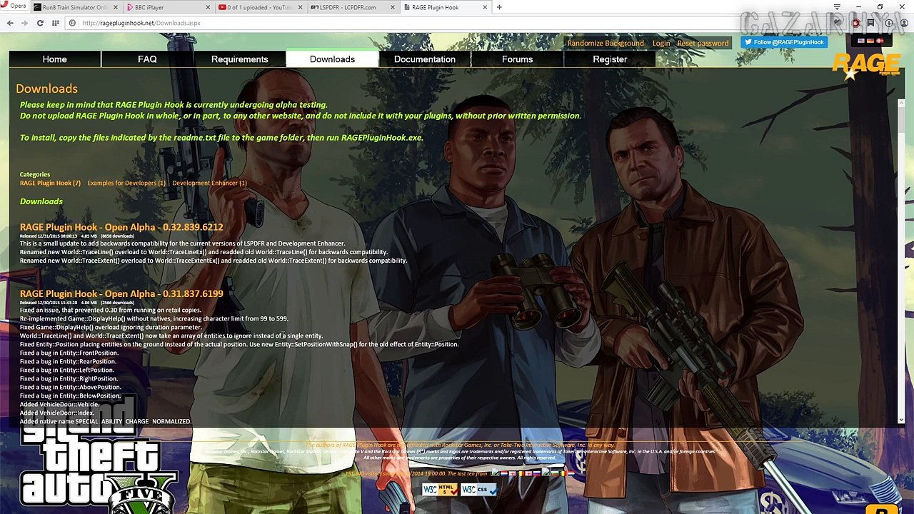 ♦GTA 5[PC]♦How To Install LSPDFR, RageHook & What Are Log Files