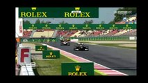 GP2 Crash - Antonio Giovanazzi vs Sean Gelael - Catalunya Sprint Race 2016