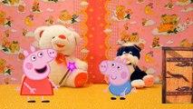 Свинка Пеппа , Джордж и Маша   мультфильм Учим цифры от 1 до 10  видео для детей (Peppa pig)