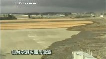 Tsunami Hits Sendai Airport in Japan