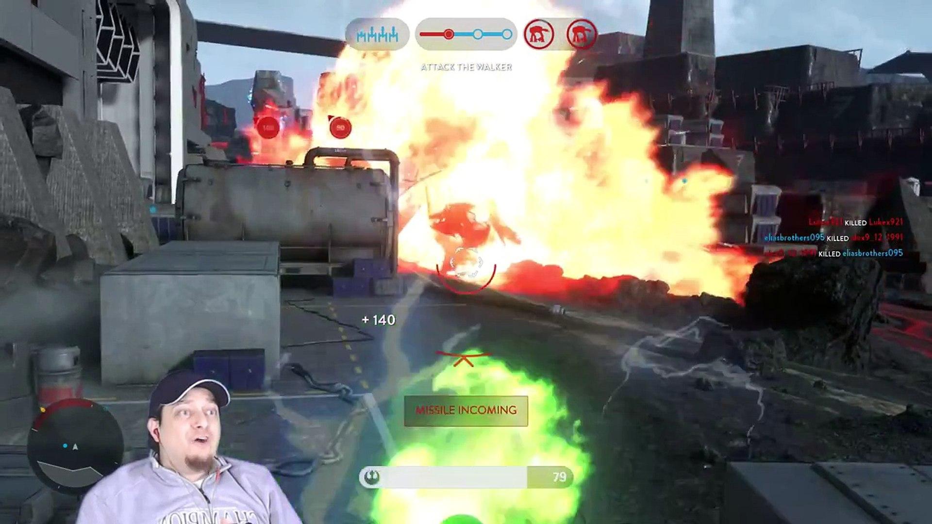 Star Wars Battlefront Part 12 Gameplay Walkthrough PS4 Multiplayer