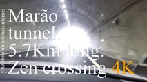 5.7Km long: Marão Tunnel. Full zen crossing. Amarante - Vila Real. Portugal | 5.7Km de comprido: Túnel do Marão. Travessia zen completa. Amarante - Vila Real. Portugal | 4k UHD 2160p.