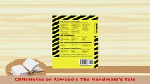 PDF  CliffsNotes on Atwoods The Handmaids Tale Download Online