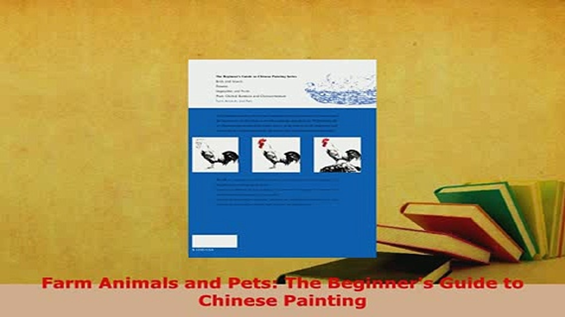 PDF  Farm Animals and Pets The Beginners Guide to Chinese Painting Read Online