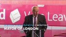 Boris Johnson compares EU's aims to Hitler's