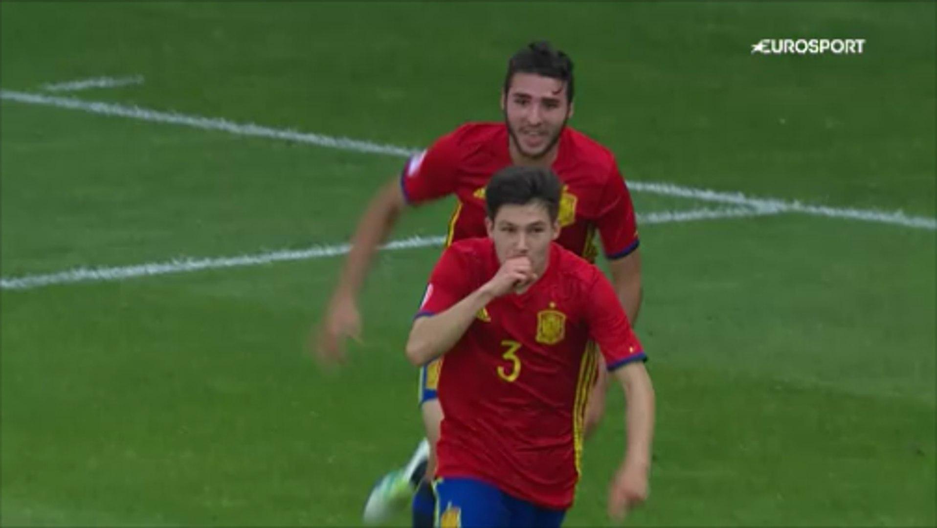 Francisco García With An Epic Solo Goal vs England U-17!
