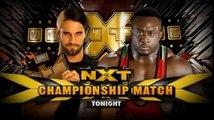 Seth Rollins vs Big E Langston No Disqualification Match NXT Championship WWE NXT 9/1/2013