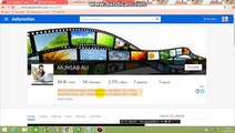 My Dailymotion Earning Proof in Urdu and Hindi