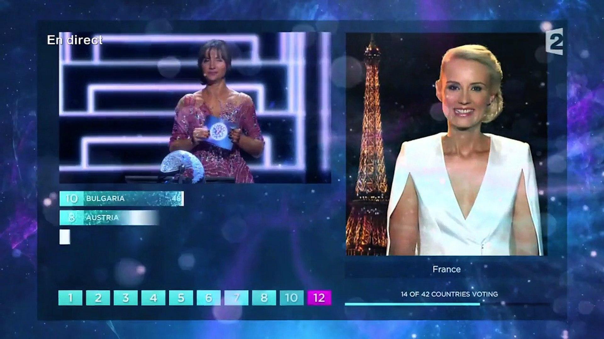 Elodie Gossuin se ridiculise à l'Eurovision 2016 - You ou ou ou ou