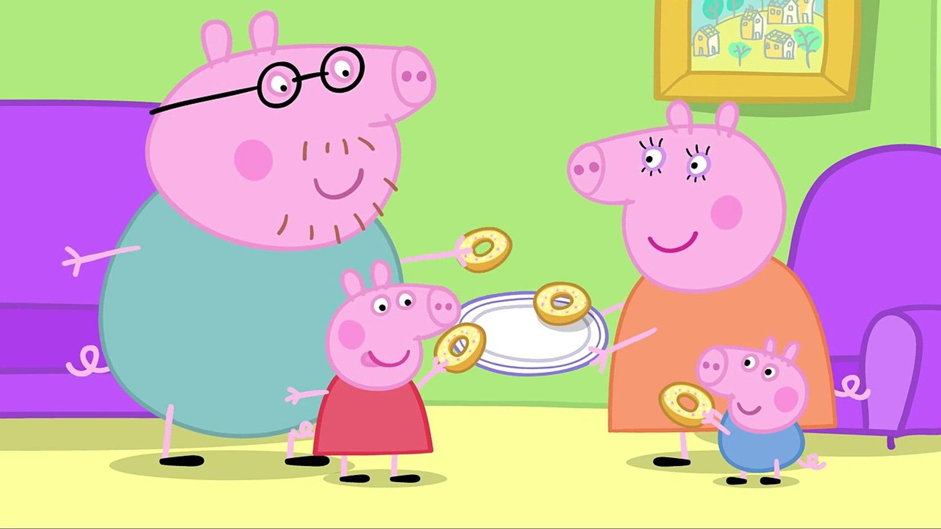 Pig Prasátko Pepina česky Daddy Pig S Secret Box Clip
