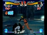 Naruto EX Wii Ninja Combat Naruto vs Neji