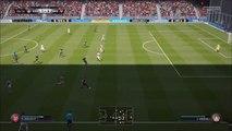 FIFA 16 - Arsenal Midfielder Santi Cazorla Amazing Goal vs Bayer 04