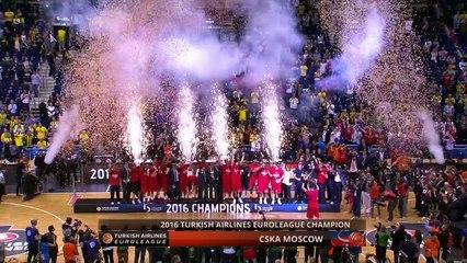 CSKA Moscow celebrations