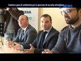 RACCOLTA ALIMENTARE NEL CALATINO - CONFERENZA STAMPA  28 FEBBRAIO 2014 - SERVIZIO TG TELE D