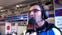 24 Heures Motos 2015 - Interview de Damien Saulnier, team manager du Junior team Suzuki